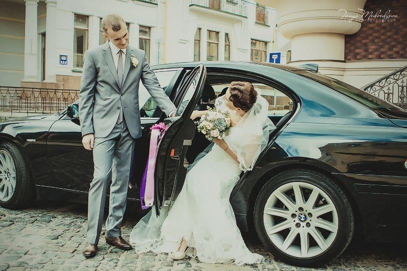 свадебный автомобиль БМВ 745