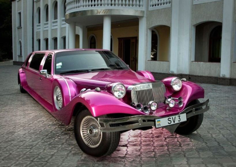 лимузин Excalibur на свадьбу