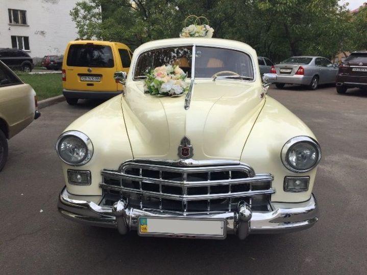 ЗИМ ретро авто на свадьбу