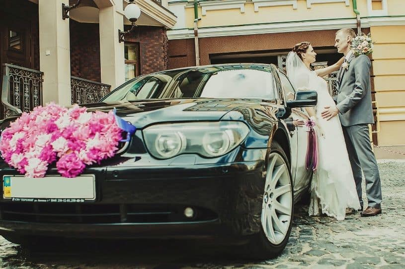 бмв 745 свадьба киев