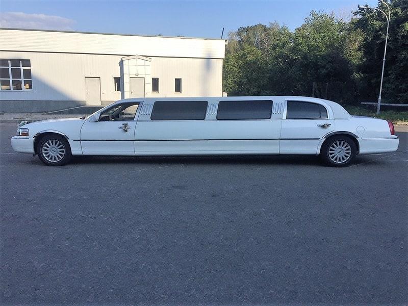 лимузин линкольн на свадьбу киев