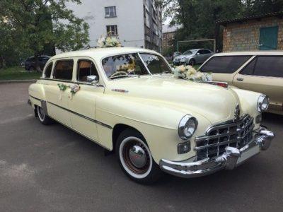 ЗИМ на свадьбу ретро авто