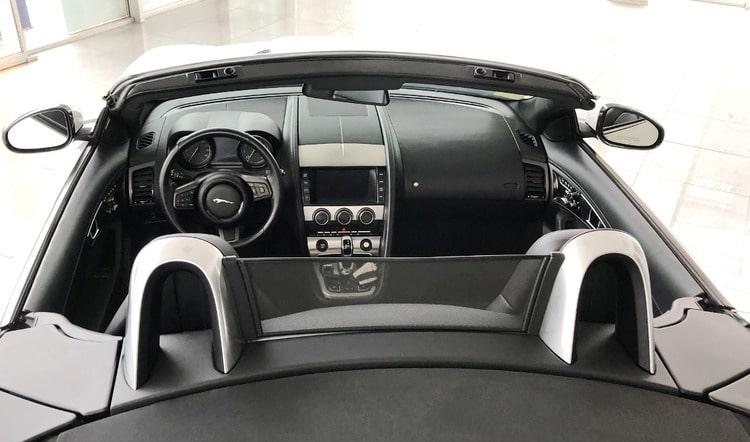 люкс авто ягуар кабрио фото салона