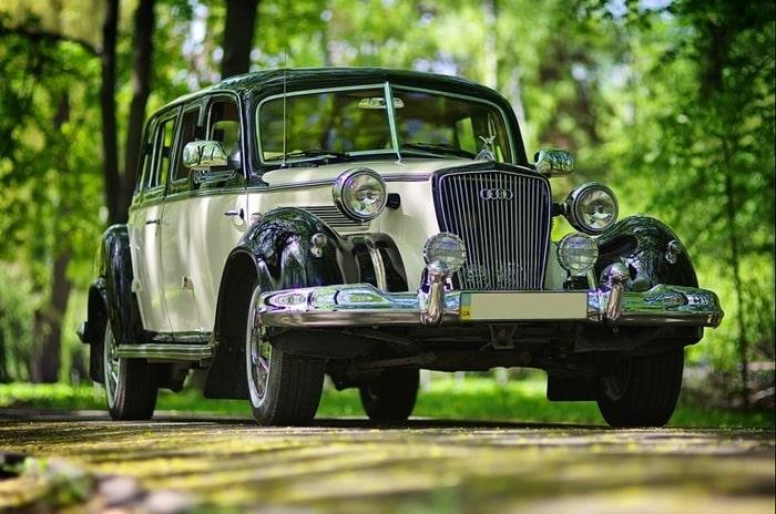 ретро лимузин Wanderer на свадьбу