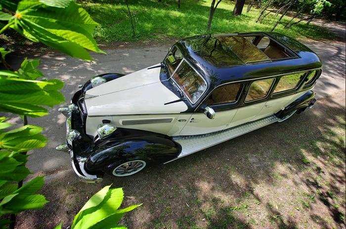 ретро лимузин Wanderer на свадьбу киев