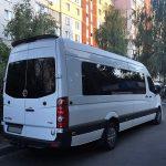 аренда автобуса фольксваген крафтер на свадьбу