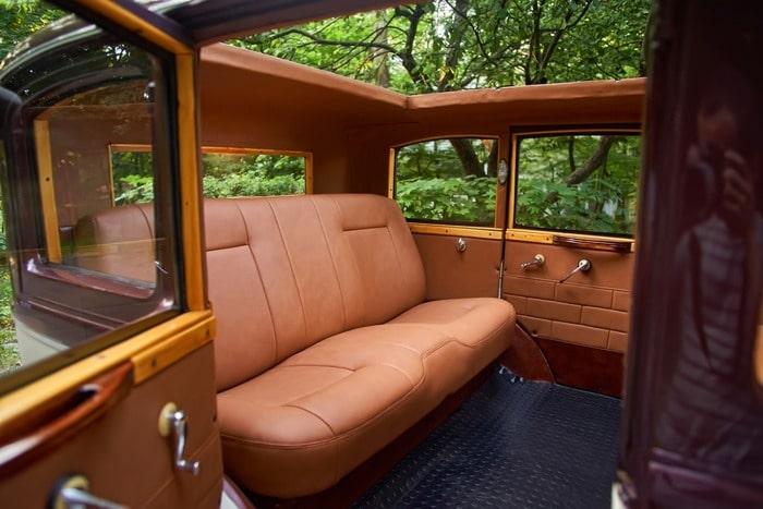салон ретро лимузина desoto