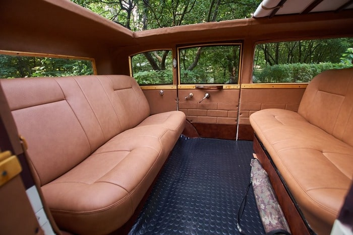 фото салона ретро лимузин dessoto 7 мест