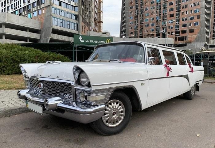 газ-13 ретро машина на свадьбу