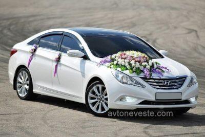 свадебное авто Hyundai Sonata