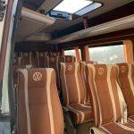 салон автобуса фольксваген крафтер 18 мест