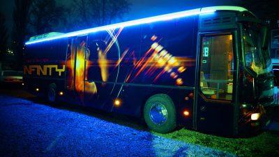 пати бас Game Bus Infinity на свадьбу, выпускной, день рождения