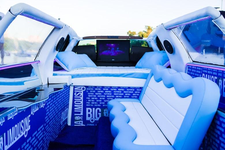 фото салона аква лимузина 8 мест
