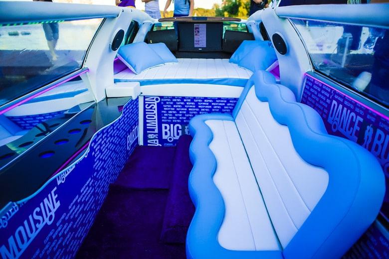 фото салона аква лимузина