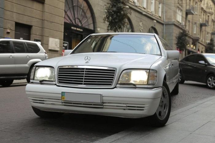 Лимузин Mercedes w140 не дорого на свадьбу, выпускной, день рождения