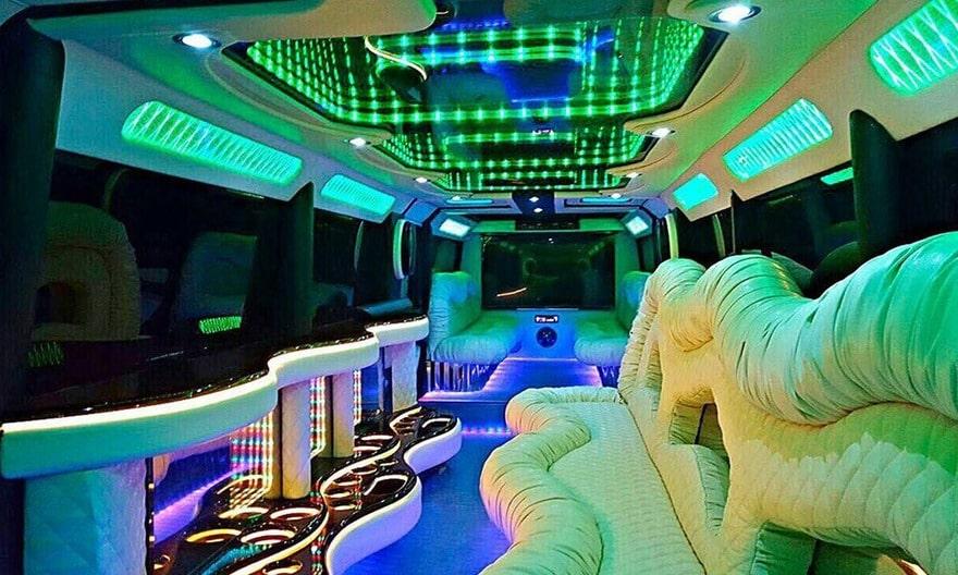 фото салона лимузина гелендваген g-класс