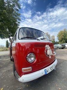фотография ретро авто фольксваген тайп 2